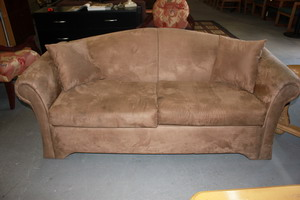 brown micro 2 seater Sofa Bed Blowout Sale in Phoenix