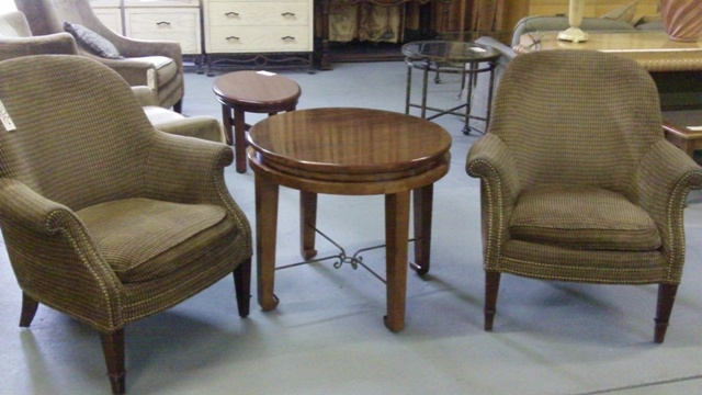 2 Chairs With Mark David Table For Sale In Phoenix