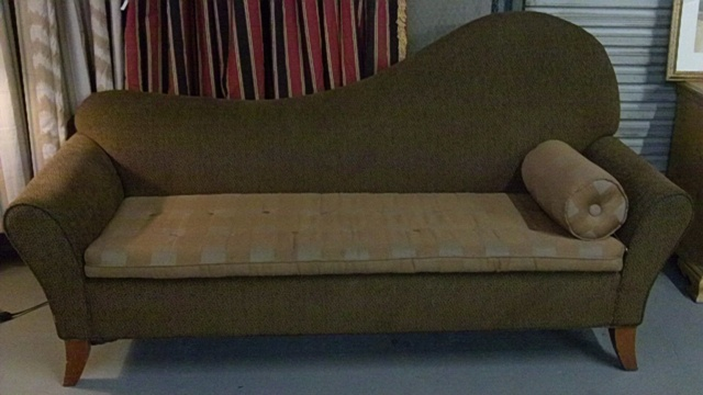 Dark mgm chaise lounge in phoenix for Liquidation chaise