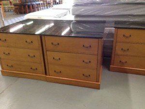 Granite Top 3 Drawer Dre