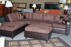 Chocolate sectional Sofa Bed Blowout Sale in Phoenix