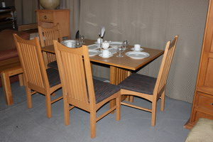 beige real wood dinning set Dining Tables and Chairs Clearance Sale!