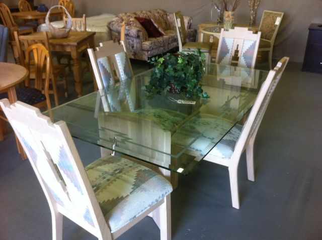 Elegant Southwest Glass Dining Table Set : storepics 098 from azliquidator.com size 640 x 478 jpeg 46kB