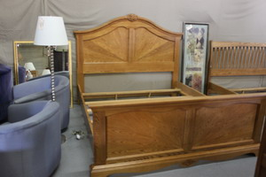 Honey Oak Bed Frame