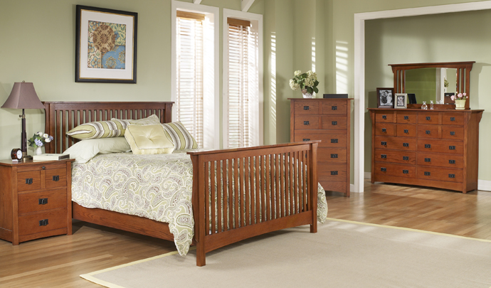 Brook Hollow Mission Bed $219
